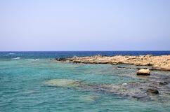 Den Gramvousa ön, Grekland Arkivbild