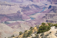 Den Grand Canyon nationalparken #10 Royaltyfri Bild