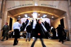 Den Grand Central stationen Manhattan N.Y Royaltyfria Bilder