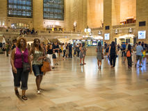 Den Grand Central terminalen i New York Royaltyfri Bild