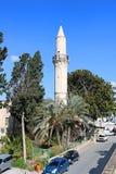 Den Grans moskén, Djami Kebir, som den kallas, Larnaca royaltyfri bild
