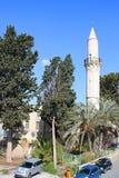 Den Grans mosk?n, Djami Kebir, som den kallas, Larnaca arkivfoton