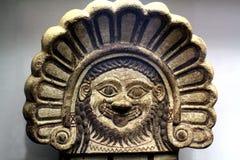 Den grekiska antikviteten maskerar arkivbild