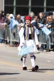 Den grekiska självständighetsdagen ståtar 2018 Royaltyfri Foto