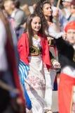 Den grekiska självständighetsdagen ståtar 2018 Royaltyfria Bilder