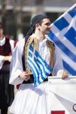 Den grekiska självständighetsdagen ståtar 2018 Fotografering för Bildbyråer