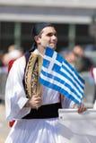 Den grekiska självständighetsdagen ståtar 2018 Arkivbilder