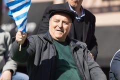 Den grekiska självständighetsdagen ståtar 2018 Arkivfoton