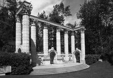 Den grekiska teatern i skrå parkerar i Scarborough Royaltyfria Foton