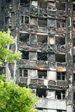 Den Grenfell tornbranden Royaltyfri Bild