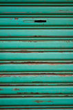 Den gröna bakgrunden som göras metall Arkivfoton