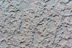 Den grova modellen av betongväggen Arkivbild