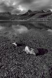 Den grunda Redfish sjön Fotografering för Bildbyråer