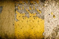 Den Grunge knäckte betongväggen, vaggar textur, stenbakgrund Royaltyfria Foton