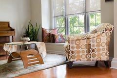 Den Guest Room Design domestico architettonico moderno fotografie stock libere da diritti