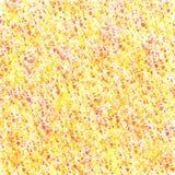 Den gula röda apelsinen plaskar abstrakt bakgrund Royaltyfri Bild