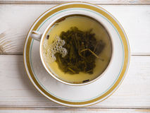 Ren hoad grön tea för en frukost Royaltyfri Foto