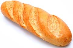 Den guld- bruntet släntrar av franskt bagettbröd royaltyfria foton