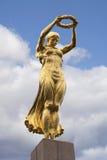 Den guld- damen av Luxembourg arkivfoto