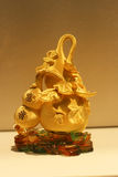 Den guld- kalebasskalebassen royaltyfri foto