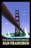 Den guld- portbron, San Francisco
