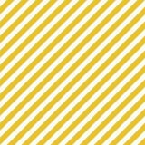 Den guld- vita diagonalen gör randig den sömlösa modellen stock illustrationer
