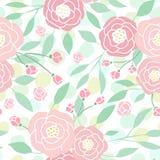 Den gulliga pastellfärgade pionen blommar på vit Royaltyfri Fotografi
