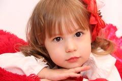 Den gulliga ungen royaltyfria foton