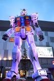 Den Gundam roboten som är 18 metrar högt från Royaltyfria Bilder