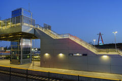 Den härliga Anaheim regionala Intermodal transportmitten Royaltyfria Foton