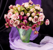 den härliga buketten blommar pink Fotografering för Bildbyråer