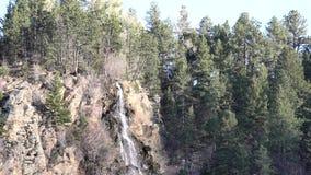 Den härliga Charlie Tayler Water Wheel på Idaho vårar stock video