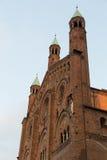 Den härliga domkyrkan av cremona Fotografering för Bildbyråer