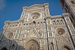 Den härliga domkyrkan av Florence Royaltyfria Foton