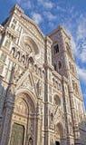 Den härliga domkyrkan av Florence Royaltyfri Foto