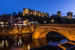 Den härliga Durhamen i nordliga England Arkivbilder