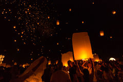 Den härliga festivalen i Thailand Royaltyfri Bild