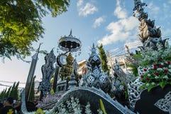 Den härliga flötet i ståtar för främjade 46th Thailand nationella lekar arkivbilder