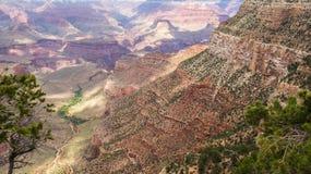 Den härliga Grand Canyon Arkivfoto