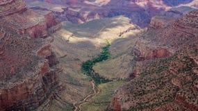 Den härliga Grand Canyon Arkivbilder