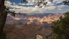 Den härliga Grand Canyon Arkivbild