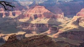 Den härliga Grand Canyon Arkivfoton
