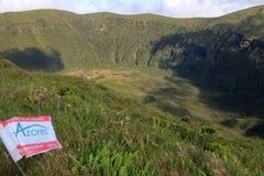 Den härliga Isla Faial på Azoresna Portugal royaltyfria foton