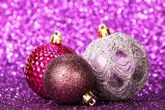 Den härliga julen klumpa ihop sig Royaltyfria Foton