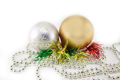 Den härliga julen klumpa ihop sig Royaltyfria Bilder