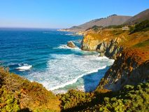 Den härliga Kalifornien kusten Royaltyfri Fotografi