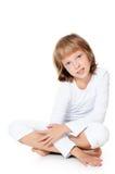 Den härliga liten flicka arkivbild