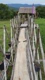 Den härliga och bra idébron i Thailand Arkivfoto