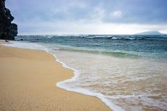 Den härliga stranden i Nha Trang, Vietnam Fotografering för Bildbyråer