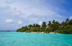 Den härliga tropiska ön Royaltyfri Foto